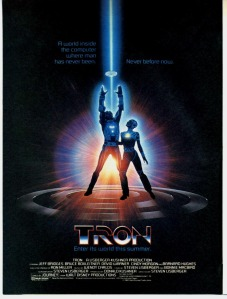 Tron...a movie about...something...